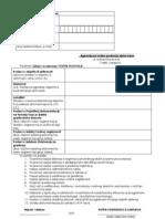 Zahtjev za izdavanje Vodne dozvole - pravna lica