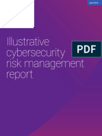 Illustrative Cybersercurity Risk Management Report