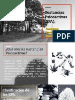 Sustancias Psicoactivas (SPA).