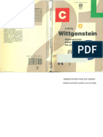 Wittgentein, Observación de los colores