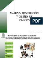 Diseño y Descripción de Cargos