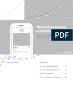 The Guide to Modern Event Planning
