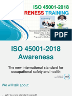 ISO 45001-2018 Awareness Training_Prepared by Eddy_190305