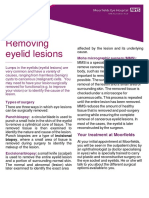 Removing Eyelid Lesions