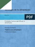 Socioantropología de la alimentación