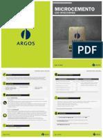 Argos FT MicrocementoUsoInyecciones