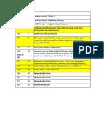 Cronograma Apresentações ACP II 2019 1