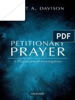 Davison, Scott Alan - Petitionary Prayer _ a Philosophical Investigation-Oxford University Press (2017)