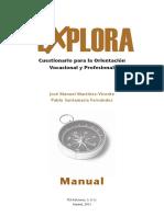 Test Explora manual