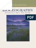 Biogeography Space Time and Life 2003 MacDonald