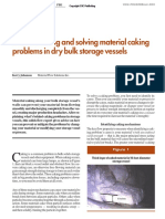 Understandin and Solving Material Caking Problems in Dry Bulk Storage