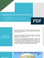 Legislación de La Comunicación