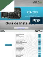 C3 200 Installation Guide ZKTECO