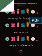 Existo, existo, existo, de Maggie O'Farrell