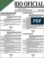 Diario Oficial 08-08-2019