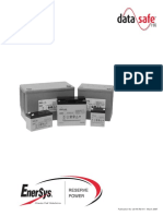 Enersys - DataSafe HX