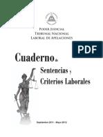 Cuaderno de Sentencias Laborales