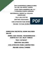 Centro Clinico Quirurgico Ambulatorio Hospital Del Dia Norte Tarqui