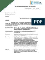ANEXO I Programa Mas Empresas Carta de Intención de Inversión Modelo TCA2019