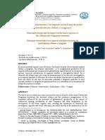 Reformas estructurales y su impacto en las bases de poder del sindicalismo chileno y uruguayo
