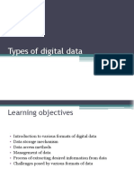 Chapter 2 - Types of Digital Data
