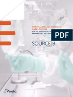 SourceB Ophthalmology Product Catalog 2018 APPROVED