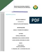 Programas de Integración Numérica