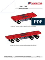 Spmt Light Spec 2 and 4 Axle Units