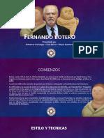 Fernando Botero Diapositivas
