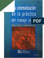 Cifuentes - La Sistematizacion de La Practica Dek Trabajo Social