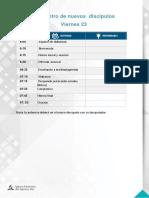 Programa - Encuentro de Pastores Chimbote