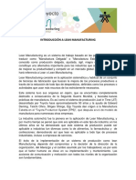 Documento Basico No. 1 Introduccion a Lean Manufacturing