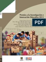 Premio a La Investigacion e Innovacion 2013