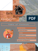 Zafe Builders a Proposed Business Plan