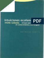 Ivone Gebara Intuiciones Ecofeministas