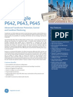 Alstom Differential Protection Relay