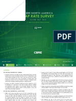 CBRE Cap Rate Survey 2nd Half 2015 Handout
