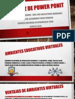 ventajas ambientes virtuales