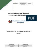 9 Procedimiento Trabajos de Instalacion de Escuadras Metalicas -Malecon Cisneros (1)
