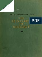 Erik Nordenskiöld - The History of Biology