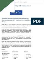 IPSOFT SIIS - Sistema Integral de Información IPS