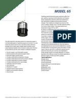 MODEL 65 Data Sheet