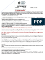 Psicología Comunitaria Generalidades