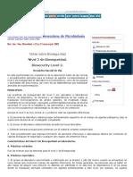 Bioseguridad en el lab