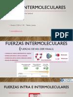 3.-Fuerzas intermoleculares