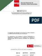 Modulo i Diapositivas Recursos Humanos y La Ley Servir
