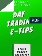Day Trading E TIPS