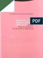Elisabeth Schüssler Fiorenza - Cristología Feminista Crítica (1)