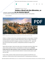 Por Que Estados Unidos e Brasil São Tão Diferentes, Se Foram Colonizados Na Mesma Época