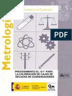 CEM EL-017 Cajas de Condensadores